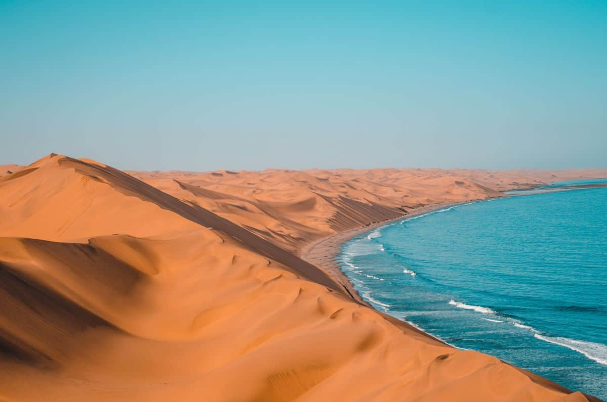 désert côtier de Skeleton Coast