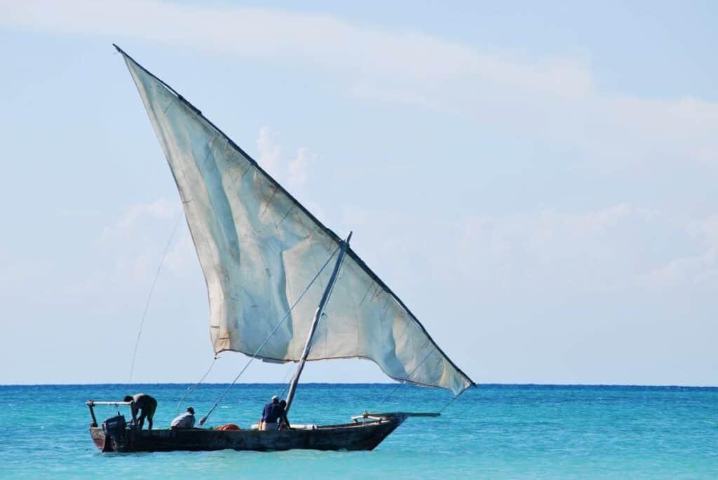 la pêche en plage à proximité du parc national de saadani