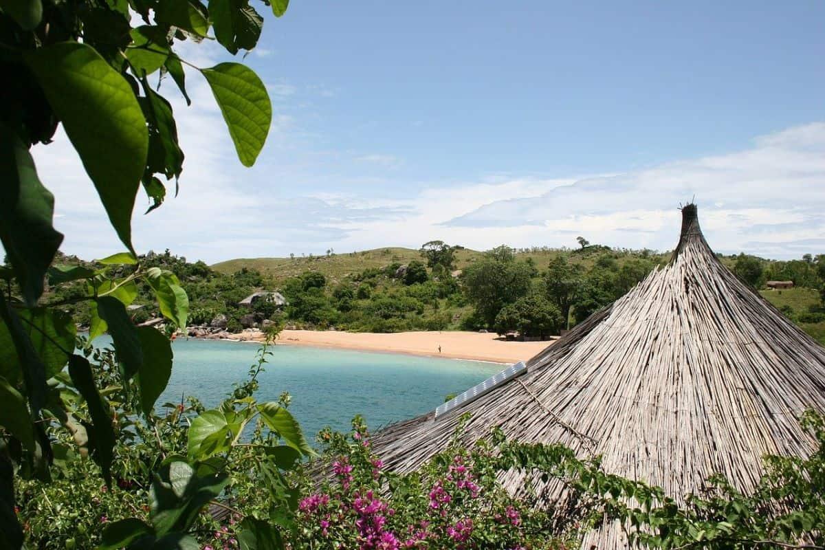 vue sur la plage de Liwonde