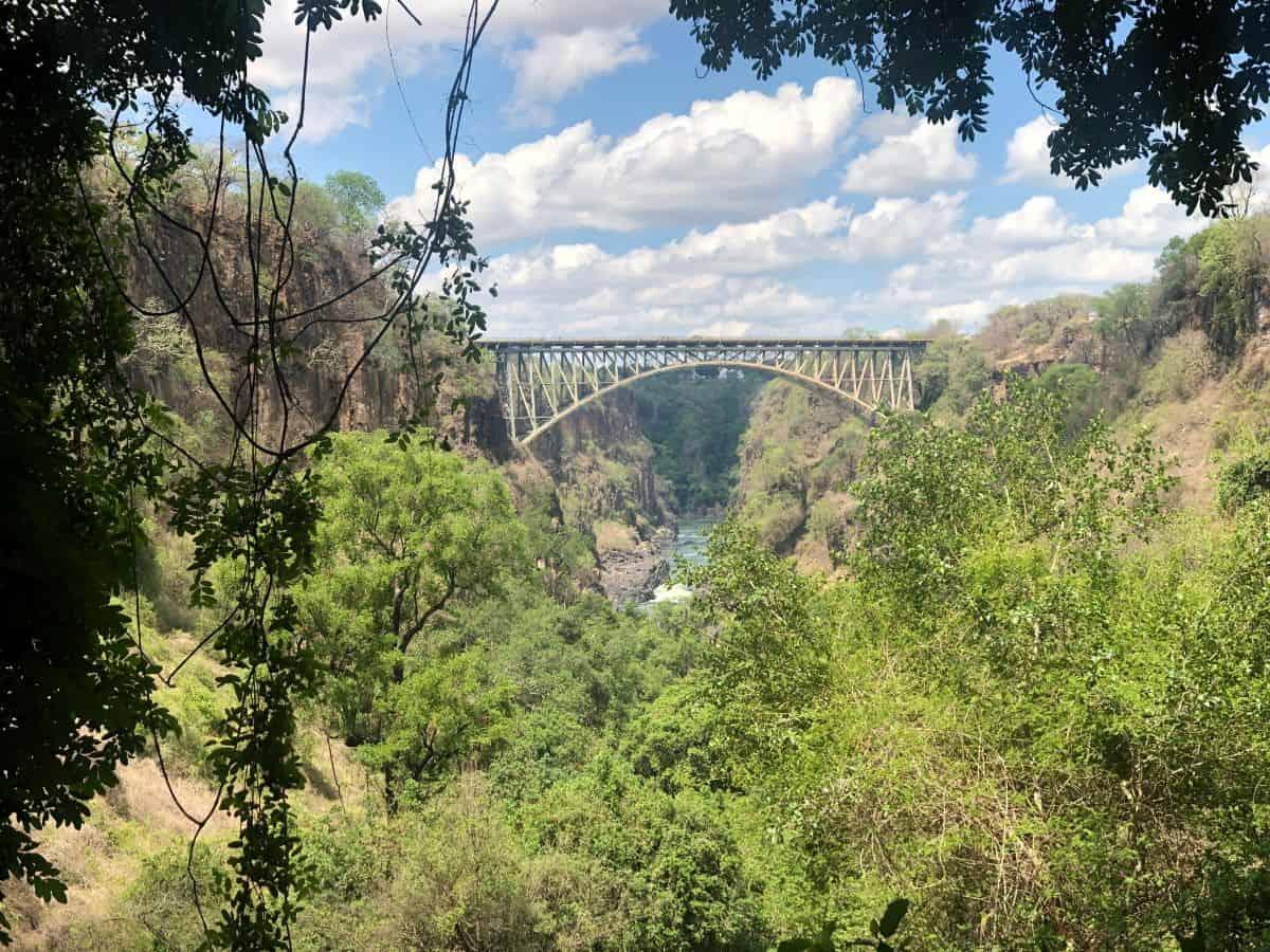 pont parc national des chutes Victoria