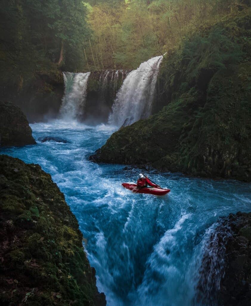 rafting aux pieds des chutes de Victoria