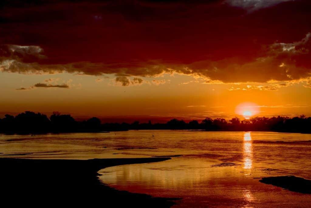 rivière du parc zambèze