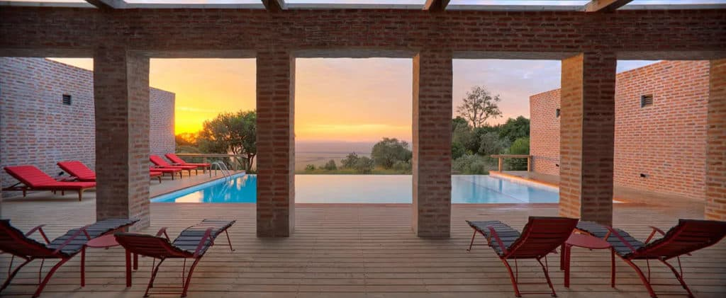 La piscine du Angama Mara