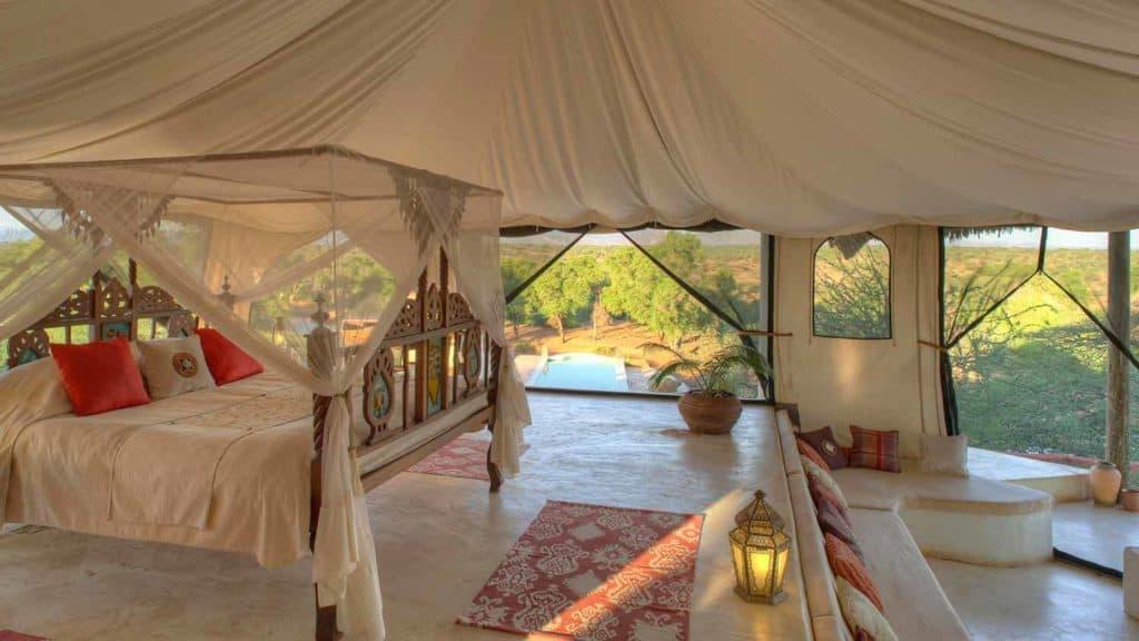 Chambre au Sasaab Lodge